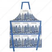 Keukenschort - Delfts Blauw...