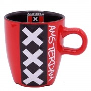 XXX Amsterdam - Koffie Mok 8cm