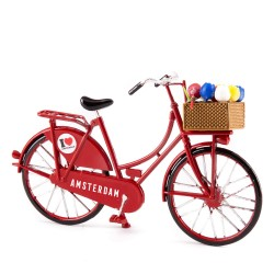 Mini Bicycle Red - Miniature 13,5 x 8,5 cm