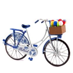 Mini Bicycle Delft-Blue - Miniature 13,5 x 8,5 cm