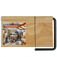 Cheese Plate and Slicer 30cm - Cheese Factory
