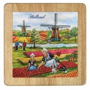 Cheese Plate - Tulip fields