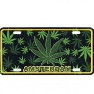 Amsterdam - Cannabis Leaf