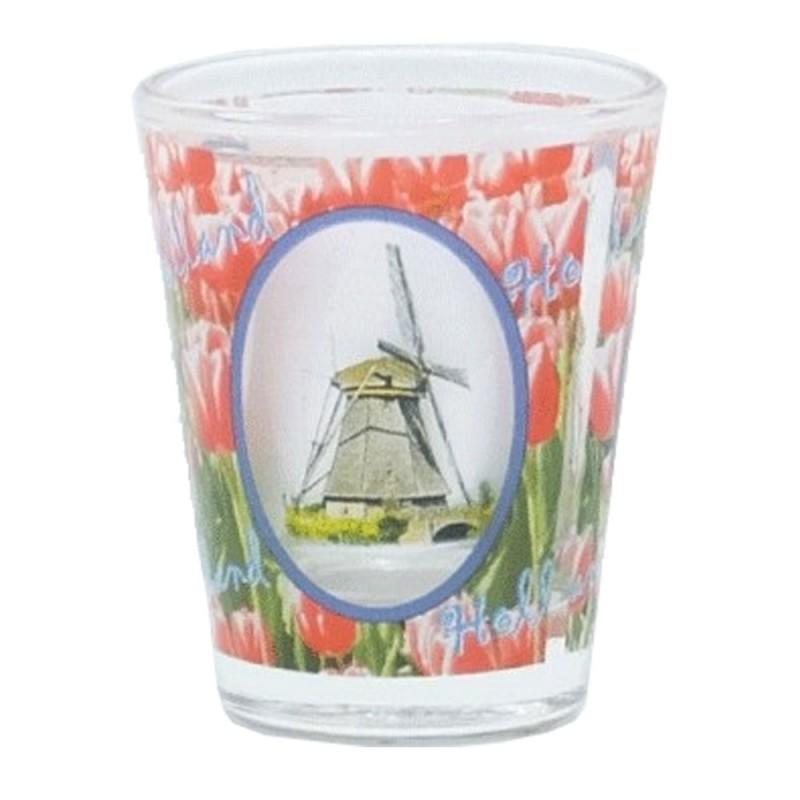 Molen en Tulpen - Shotglas