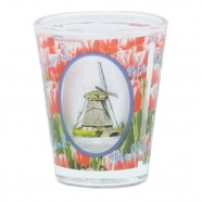 Windmill and Tulips Shotglass - Shooters