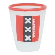 Amsterdam frosted Shotglass - Shooters