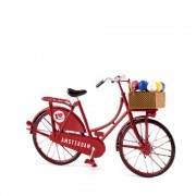Mini Bicycle Red -...