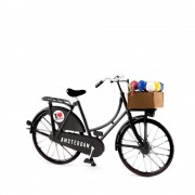 Mini Bicycle Black -...