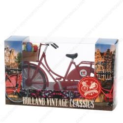 Mini Bicycle Red - Miniature 13,5 x 8,5 cm