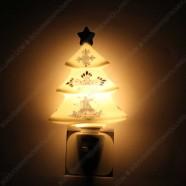 Kerstboom - Delfts Blauw - Nachtlampje