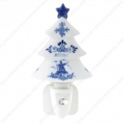 Christmas Tree - Delft Blue...