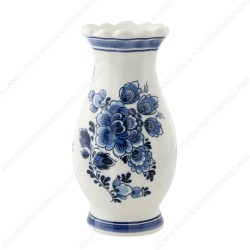 Serrated Delft Blue - Vase 14cm