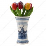 Delfts Blauwe Vaas 14cm