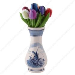 Molen Delfts Blauw -Vaas 16cm