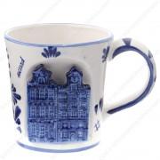 Canal Houses 3D - Mug -...