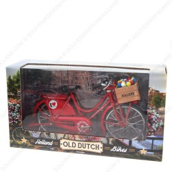 Bicycle Red - Miniature 23 x 13 cm