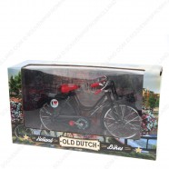 Miniatuur Fiets - Zwart - 23 x 13 cm