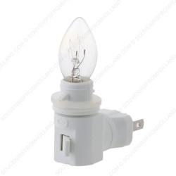 USA plug + light bulb for Night Lights