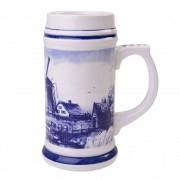 Beer mug Windmill 17cm