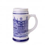 Beer mug Canal houses 14cm