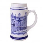 Beer mug Canal houses 17cm