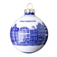 Ball 7 cm - Canal Houses - Christmas Ornaments