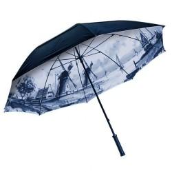 Delft Blue Umbrella 90cm - Strong Quality