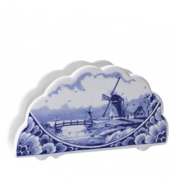 Napkins Holder Windmills - Delft Blue