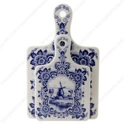 Cheese Board Windmill Small - Delft Blue