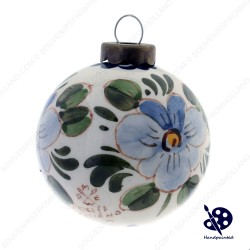 Ball Flower 5cm - Poly - Christmas Ornaments