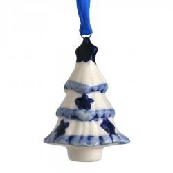 Kerstfiguren hangend Kerstboom - Kersthanger Delfts Blauw