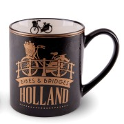 Golden Black Camp Mug...