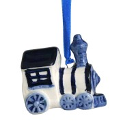 Hanging Figures  Train - X-mas Figurine Delft Blue