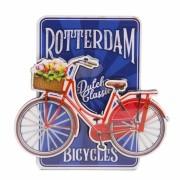 Rotterdam Blauw Fiets MDF -...