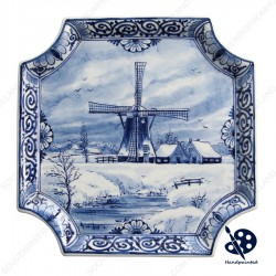 Applique Windmill 1 - Square 19 x 19 cm