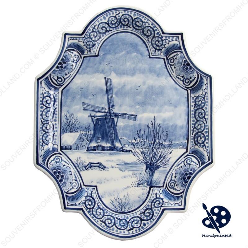 Applique Windmills Willow Vertical - 22 x 29 cm