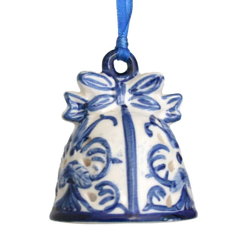 Hanging Figures  Bell - X-mas Figurine Delft Blue