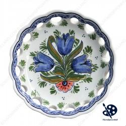 Bonbon Schaaltje Tulpen Blauw - 14cm