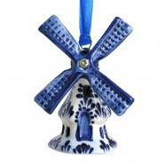 Hanging Figures  Windmill - X-mas Figurine Delft Blue
