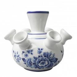 Tulip Vase Flowers - 12cm Delft Blue