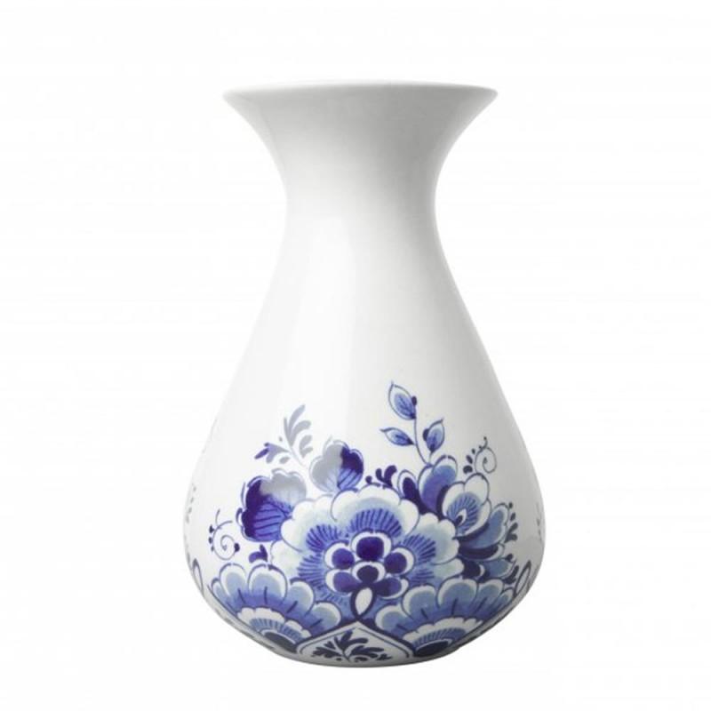 Belly Vase Flowers - 14cm Delft Blue