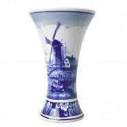 Chalice Vase Windmill Landscape - small 12cm
