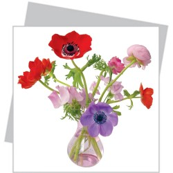 Flat Flowers Small - Mixed Anemone