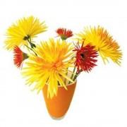 Flat Flower Raamsticker -...