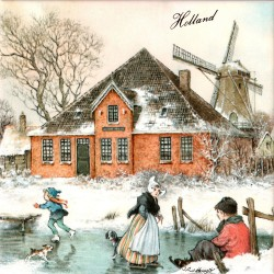 Farm Alida Hoeve Volendam - Tile 15x15cm - Color