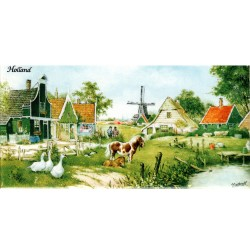 Holland Farmers Village - Tile 7.5x15cm - Color