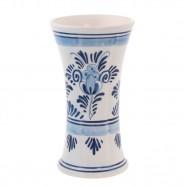 Delft Blue Chalice Vase 14cm - Flowers