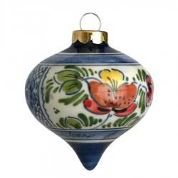 Dripball 6,5cm - Flowers / Diamond - Christmas Ornaments