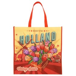 Vintage Holland Shopper - Boodschappentas 40cm