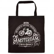 Zwarte Amsterdam Katoenen...